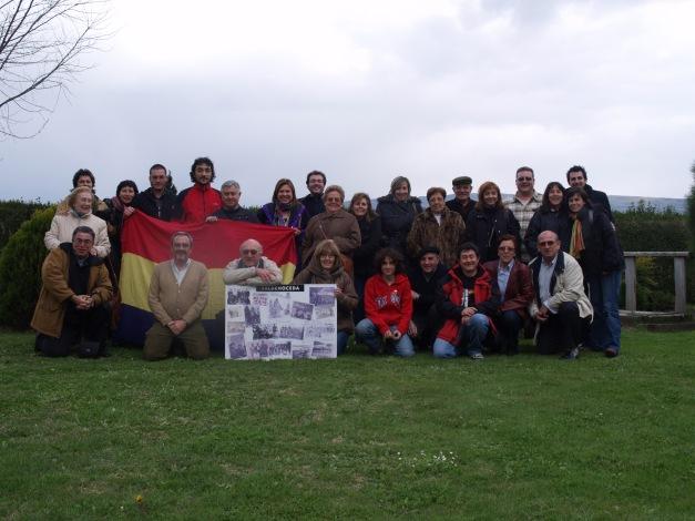 Una de las últimas reuniones anuales de la Agrupación