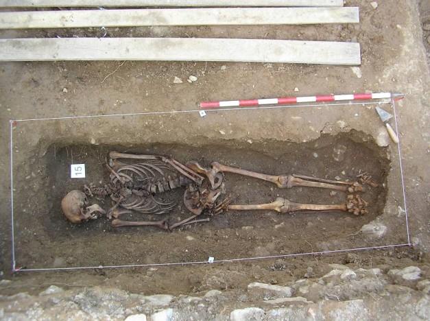 Esqueleto número 15. Identificado. Hoy reposa en su pueblo, con su familia