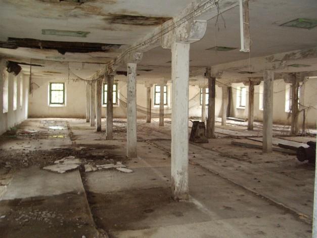 El interior de la prisión, hoy. Idéntico a que pintó Robledano