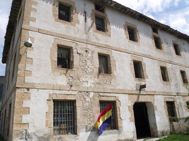 El edificio de la prisión, en nuestra última visita
