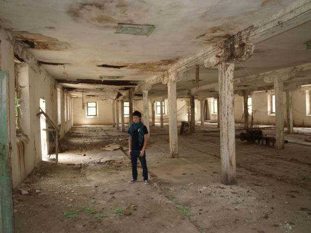 La sensación en el interior del edificio es sobrecogedora