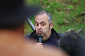 Emilio Silva no faltó a la cita. Gracias. Foto: José L. Sempere
