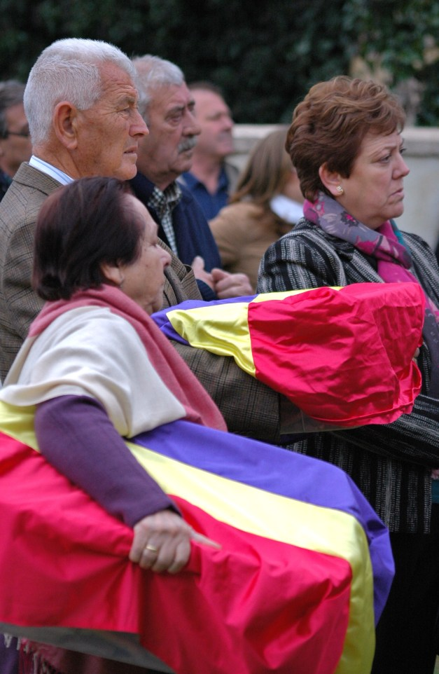 Gente de Jaén. Los familiares de Vicente Bellido y Pedro Blanco, juntos. Foto: José L. Sempere