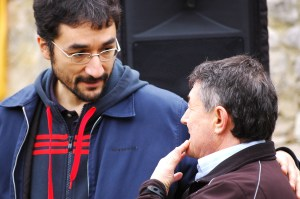 Luis Ríos, el antropólogo, y Pepe