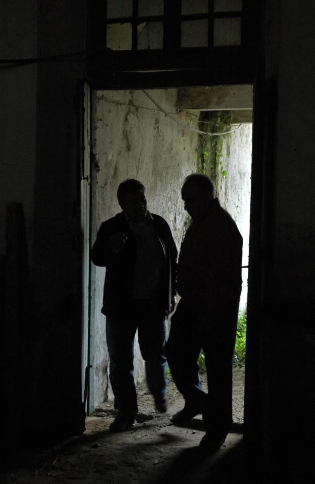 De visita al antiguo penal. Sobrecogedor. Foto: José L. Sempere