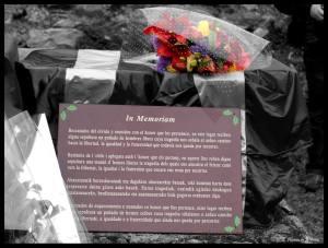 In Memoriam. En el último homenaje en Valdenoceda. Foto: Elena Alonso.