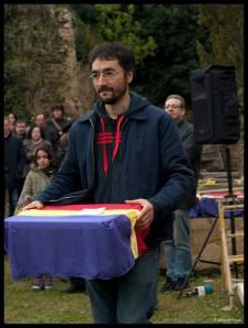 Luis Ríos, el antropólogo. Gran trabajo. Foto. Elena Alonso