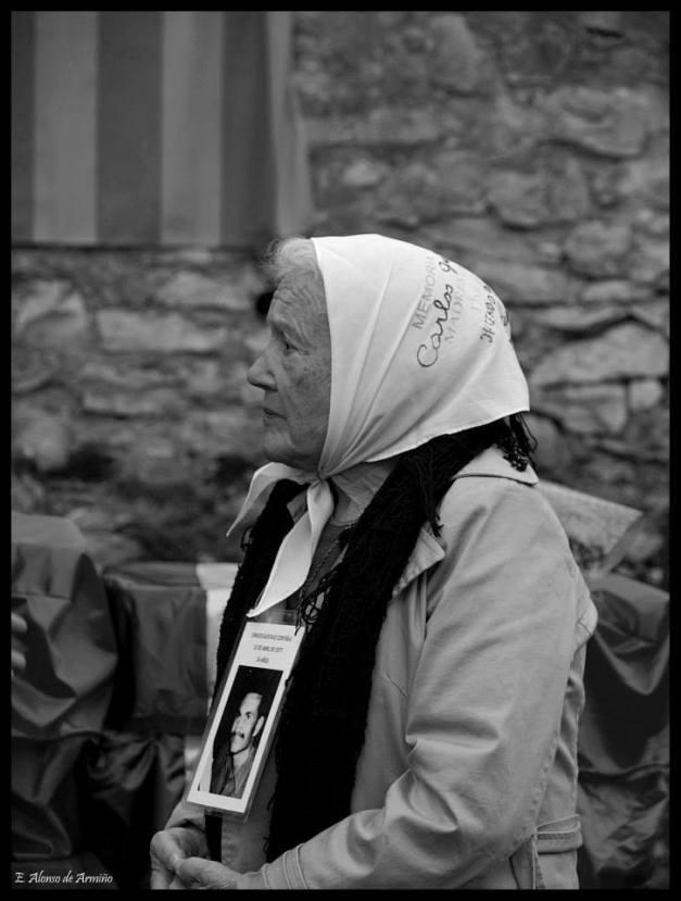 Nora Morales de Cortiñas..... Fuerza, coraje, valentía, justicia.... Foto: Elena Alonso