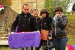 Los nietos de Cipriano Frías Cámara recogen los restos de su abuelo, identificado
