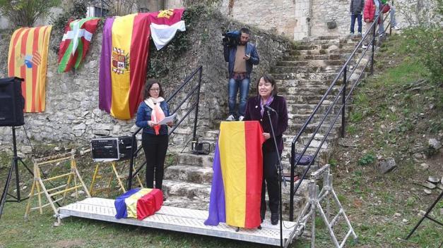 Pilar vino desde la provincia de Zaragoza, para recoger los restos de Andrés Asensio