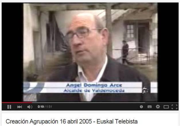 Vídeo de Euskal Telebista. 16 de abril de 2005