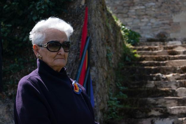 Hilda Farfanta: DIGNIDAD. Foto: Ana López