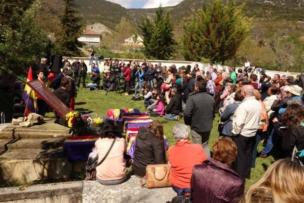 Mucha gente. Foto: Jokin Garmilla