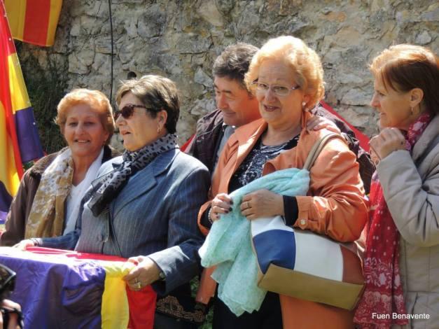 La familia de Nicasio, con Pepe. Foto: Fuen Benavente